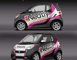 Nro 12 kilpailuun Design a Vehicle Wrap For Home Organizing Company On Smart Car käyttäjältä IrynaSokolovska