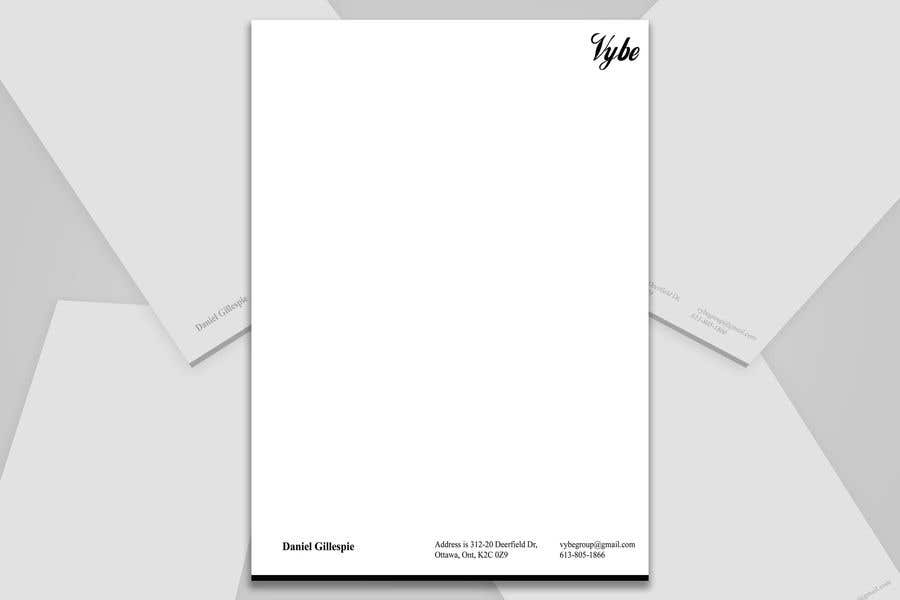 Конкурсная заявка №14 для Letterhead Needed - V