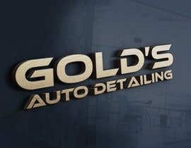"""#80 for Need a logo for my company """"Gold's Auto Detailing"""" by mdabdullah913"""