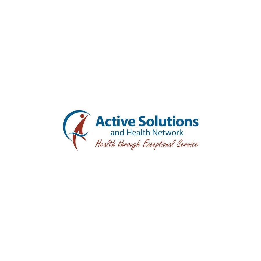 Inscrição nº                                         9                                      do Concurso para                                         Logo Design for Active Solutions and Health Network