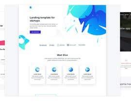nº 48 pour Design Landing Page for free Template Download par freelancershajiv