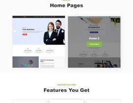 nº 49 pour Design Landing Page for free Template Download par EmonAhmedDev
