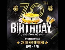 #3 для 70th birthday invite від hstiwana51