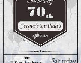 #6 для 70th birthday invite від RenggaKW