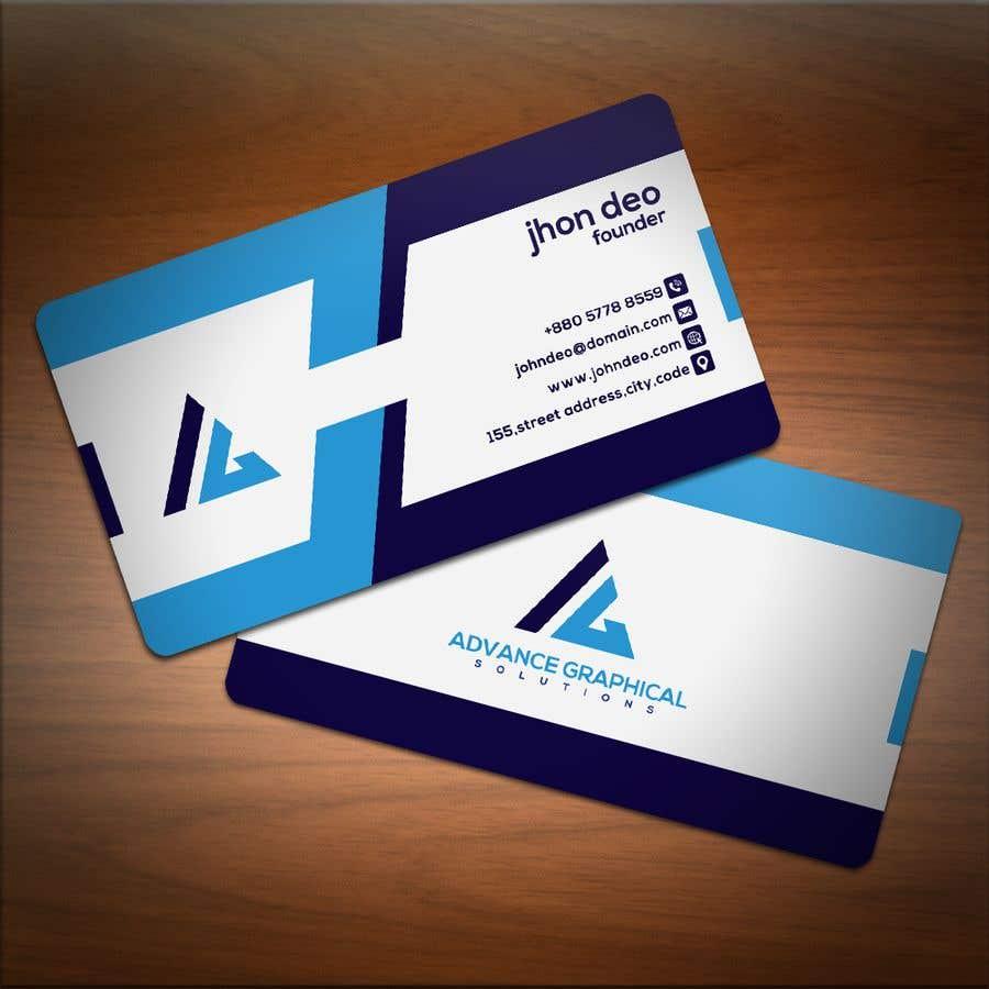 Kilpailutyö #269 kilpailussa Logo for my company with business card design
