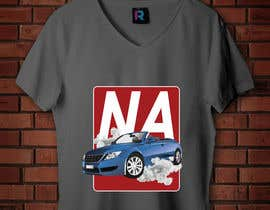 #45 for Car T-Shirt Design by SALESFORCE76