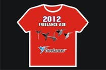 Graphic Design Zgłoszenie na Konkurs #1528 do konkursu o nazwie Need Ideas and Concepts for Geeky Freelancer.com T-Shirt