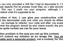 Vitalyn tarafından Fixing a Java program and notes için no 3