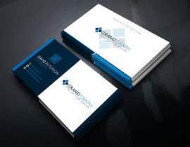 Nro 538 kilpailuun business card design käyttäjältä rahnumarah476