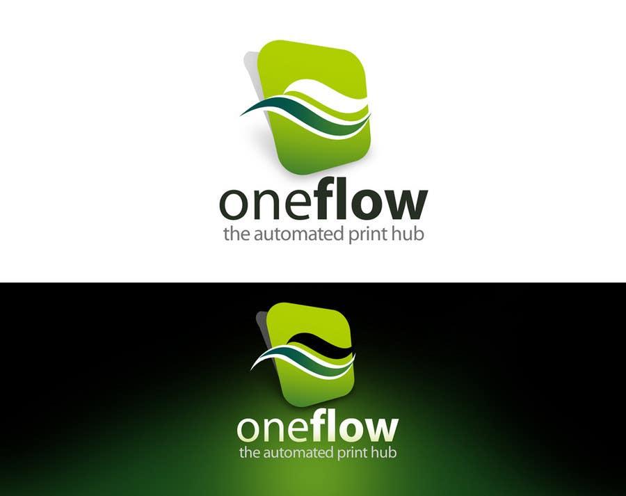 Bài tham dự cuộc thi #                                        113                                      cho                                         Logo Design for Precision OneFlow the automated print hub