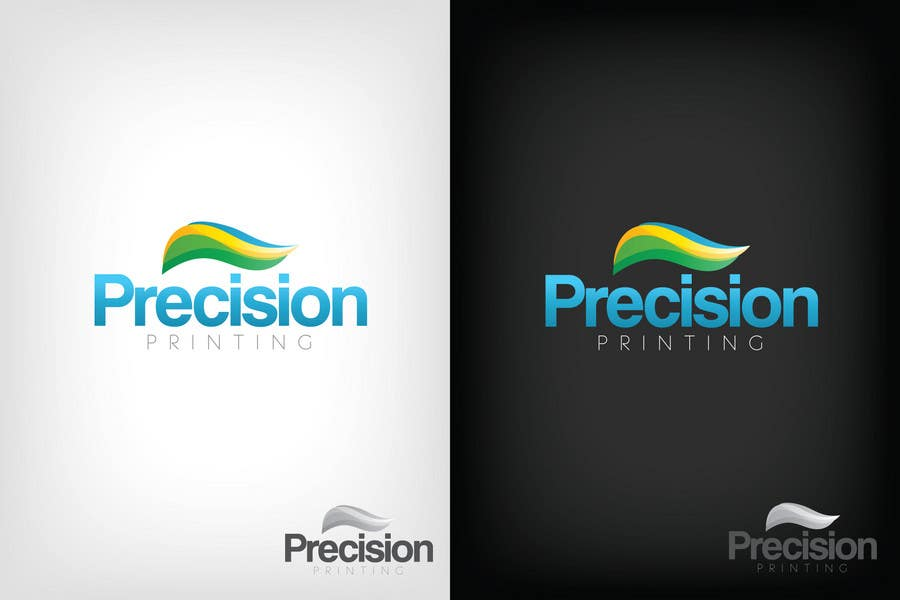 Конкурсная заявка №98 для Logo Design for Precision OneFlow the automated print hub