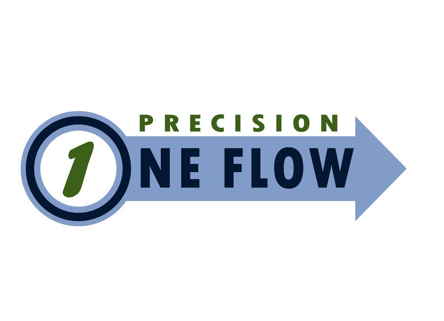 Конкурсная заявка №17 для Logo Design for Precision OneFlow the automated print hub