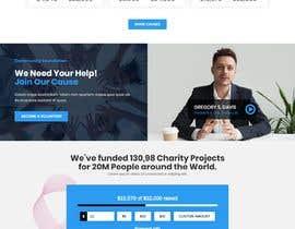 Nro 10 kilpailuun Web site for a non profit organisation käyttäjältä agwanyasin