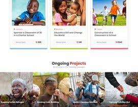 Nro 11 kilpailuun Web site for a non profit organisation käyttäjältä agwanyasin