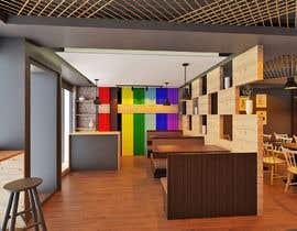 nº 26 pour 3 D rendering for Bar & Restaurant par interiorsknack