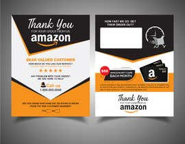 #46 untuk make me a Feedback flyer for my amazon orders oleh abdullahrasel