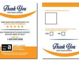 #21 untuk make me a Feedback flyer for my amazon orders oleh MaxoGraphics