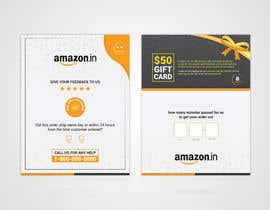 #22 untuk make me a Feedback flyer for my amazon orders oleh sushanta13