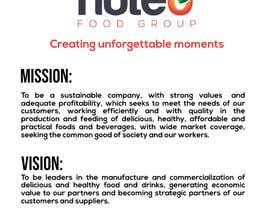 #23 cho Mission Statement/Vision Statement/Unique phrase for the company. bởi fmbocetosytrazos