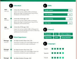 #70 for design resume (simple) by Jamrul7187