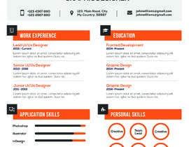 Nro 15 kilpailuun design resume (simple) käyttäjältä rakibhero969