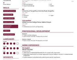 #19 for design resume (simple) by sheraz27