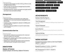 #21 for design resume (simple) by sheraz27