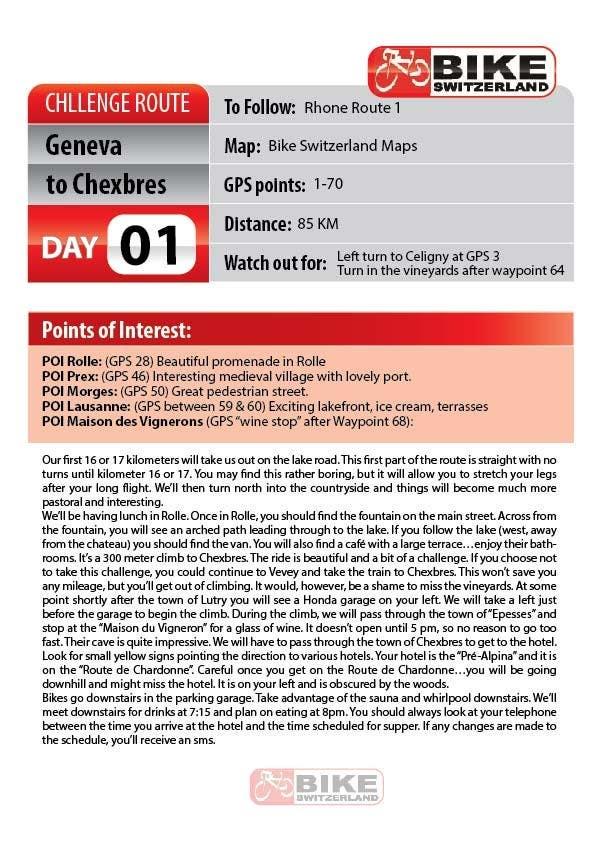 Inscrição nº                                         2                                      do Concurso para                                         Day Sheets
