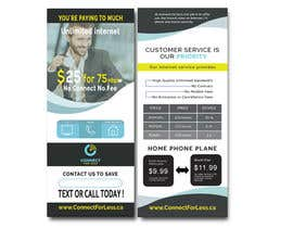 #71 for Postcard style flyer for telecom business double sided by Mdhasab065
