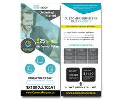 #79 for Postcard style flyer for telecom business double sided af Mdhasab065
