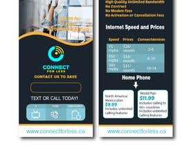 #64 for Postcard style flyer for telecom business double sided by summrazaib22