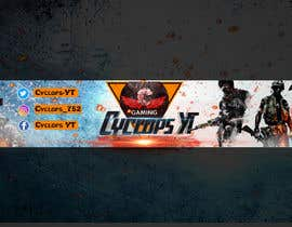 #19 untuk Make a YouTube logo and banner for my gaming channel oleh maninaidu66