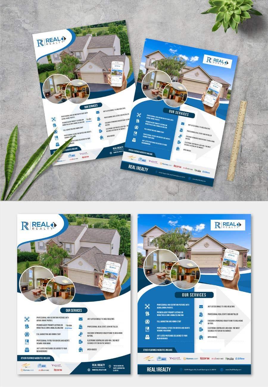 Bài tham dự cuộc thi #166 cho Custom one page Professional Brochure for Real Estate Company
