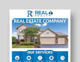#34 untuk Custom one page Professional Brochure for Real Estate Company oleh piashm3085