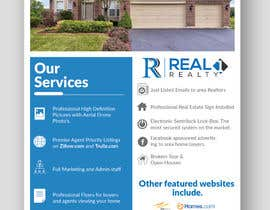 #58 untuk Custom one page Professional Brochure for Real Estate Company oleh piashm3085