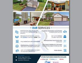 #147 cho Custom one page Professional Brochure for Real Estate Company bởi designerrezaul