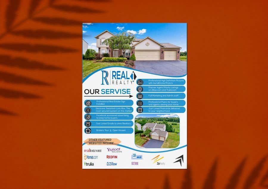 Bài tham dự cuộc thi #112 cho Custom one page Professional Brochure for Real Estate Company