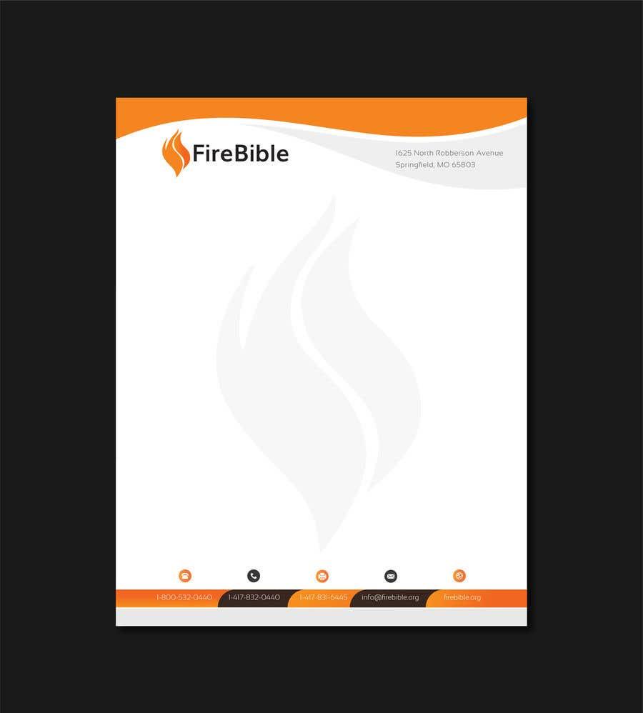 Entry #118 by tarikulkerabo for FireBible Letterhead