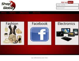 #5 for Landigpagedesign for shop-globe.com af ibrahim4