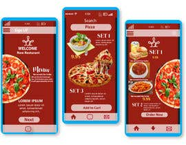 #10 for Restaurant Mobile Application Prototype (look and feel only) by FarzanaTani
