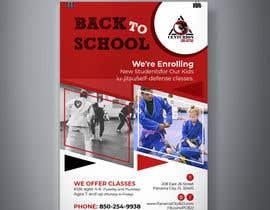 #72 untuk Back to School, BJJ Academy Ad design. oleh GraphicsTeamBD