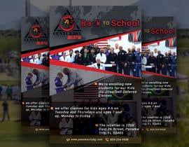 #92 untuk Back to School, BJJ Academy Ad design. oleh DesignerSohan