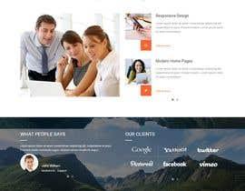 nº 7 pour Word Press Home Page design -   Softura.com par ASwebzone