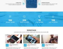 nº 72 pour Word Press Home Page design -   Softura.com par WebCraft111