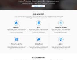 #73 untuk Word Press Home Page design -   Softura.com oleh WebCraft111