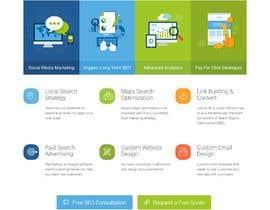 nº 82 pour Word Press Home Page design -   Softura.com par tajenul