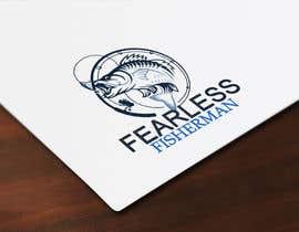#40 for Logo Design for FearlessFisherman.com af Biographyofmehed