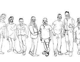 soumenart tarafından Create Cartoon Caricature of 5 people (images) için no 8
