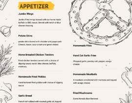 Nro 17 kilpailuun Need A FANTASTIC Restaurant Menu Designed Please! :D käyttäjältä FALL3N0005000