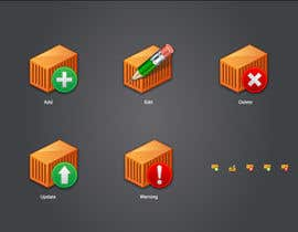 #13 untuk Icon or Button Design for Logistic platform oleh raikulung